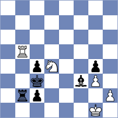 Melian - Lammens (chess.com INT, 2020)
