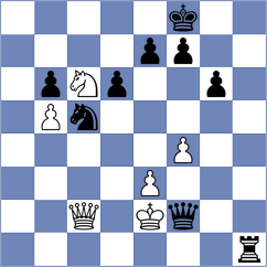 Molina - Fedoseev (chess.com INT, 2021)